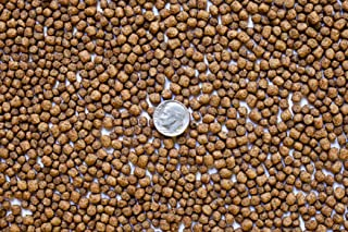 America's Best Koi Food 25 lbs Koi Fish Food - 32% Premium Protein - 1/8 Inch Pond Pellets for Koi Goldfish and Pond Fish - Packaged in Sealed Heavy Duty Poly Bag