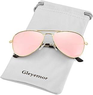 Kids Polarized Aviator Sunglasses for Little Girls Boys...