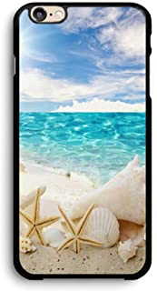 Beach and Seashells iPhone Case,PC Hard Case for iPhone (7/8)