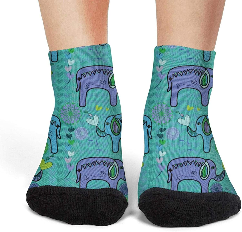 Novelty Socks Women's No Show Socks Dalmatian Puppy Low Cut Socks