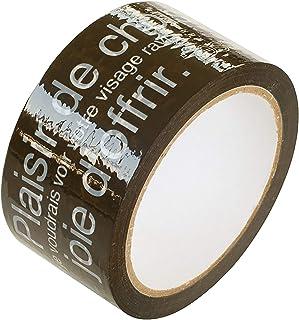 梱包テープ カフェオレ 50mm幅×50m巻 CAF-PL1