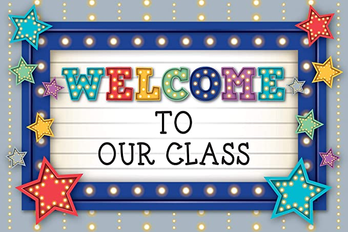Amazon.com : Teacher Created Resources Marquee Welcome Postcards (5486) :  Office Products