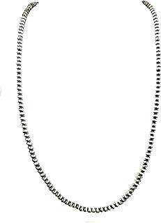 navajo pearls sterling silver