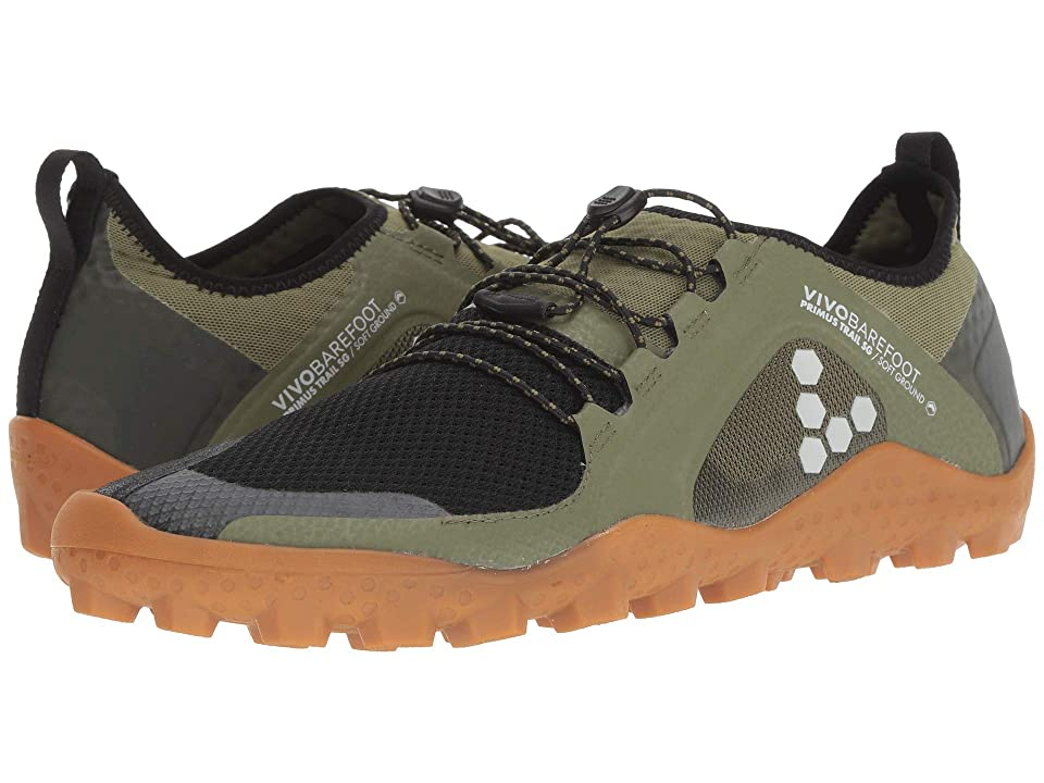 Vivobarefoot Primus Trail Soft Ground (Olive) Men