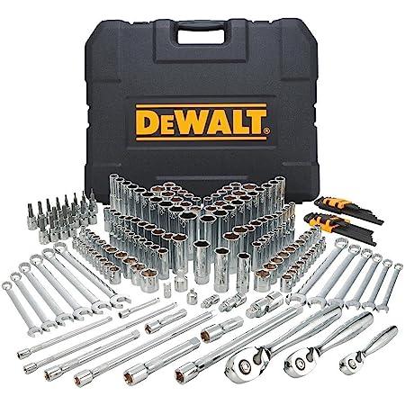 DEWALT Mechanics Tools Kit and Socket Set, 204-Piece, MM (DWMT72165)