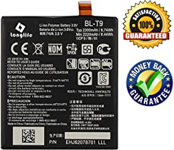 LONGLIFE Replacement Battery Compatible for Google Nexus 5 LG D820 D821 2300mAh Replacement Battery BL-T9 3.8V 8.74Wh Batería de repuesto