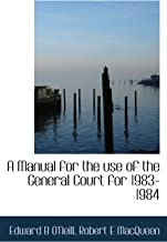 A Manual for the use of the General Court for 1983-1984