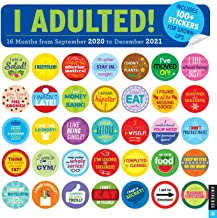 I Adulted! 2020-2021 16-Month Wall Calendar