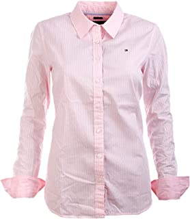 Tommy Hilfiger Women's Classic Fit Button Down Long Sleeve Dress Shirt