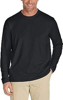 Coolibar UPF 50+ Men's Long Sleeve T-Shirt - UV Sun Protective