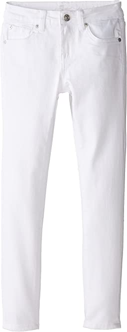 7 For All Mankind Kids - The Skinny in Clean White (Big Kids)