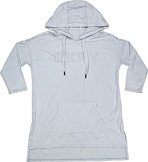 DKNY 运动长袖连帽束腰运动上衣