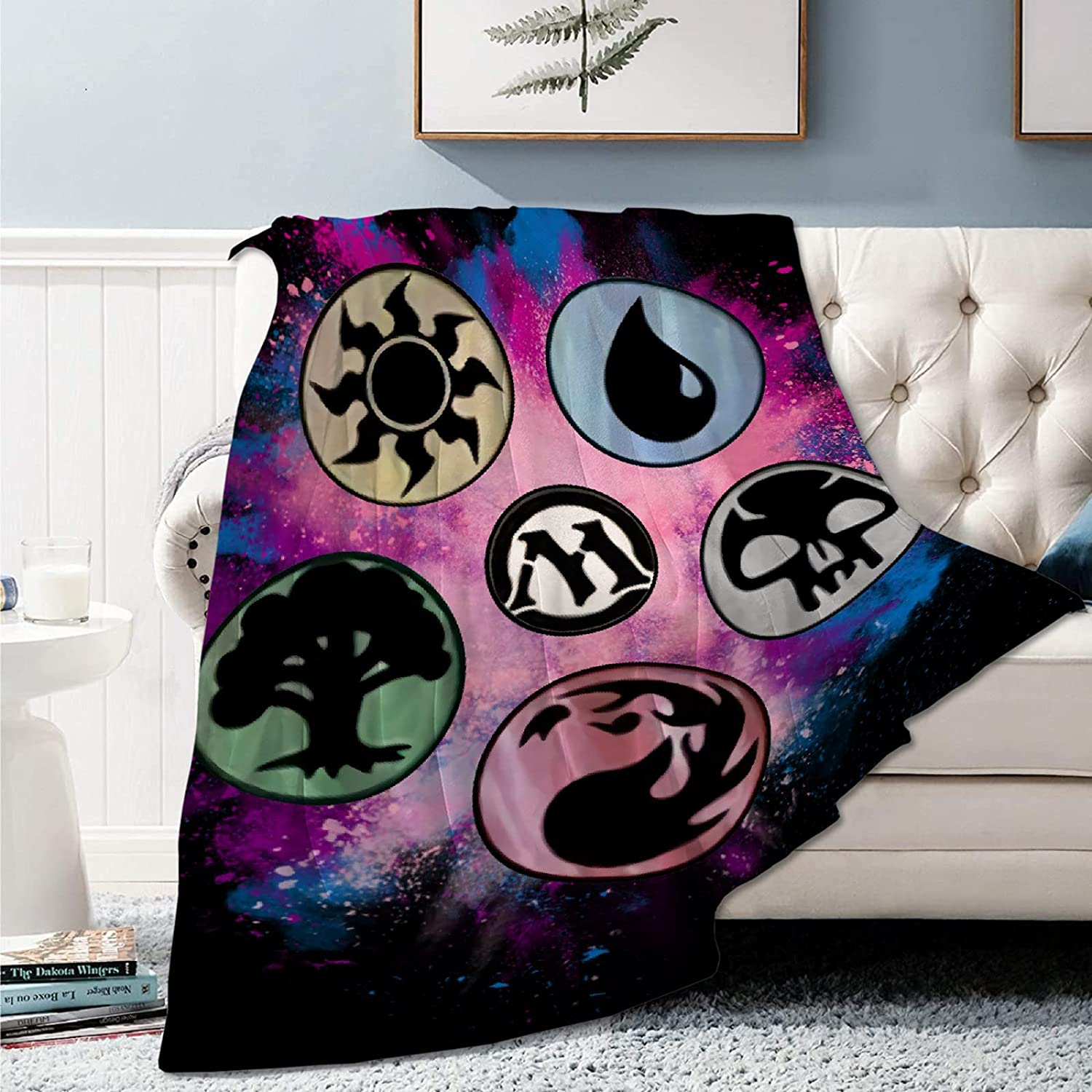 Beofada Max 63% Japan Maker New OFF Magic The MTG Gathering Queen Flannel and Blanket Throw