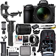 Nikon Z6 Mirrorless Full-Frame 4K Camera 1598 Filmmaker's Kit with 24-70mm f/4 S Lens + DJI Ronin-SC 3-Axis Handheld Gimbal Stabilizer Bundle + Mount Adapter FTZ + Deco Photo Backpack Case + Software