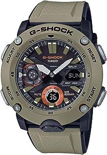 Casio G-Shock GA2000-5A Carbon Core Guard reloj de resina beige