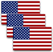 Best large reflective american flag decal Reviews