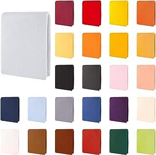 CelinaTex Aqua Drap-Housse, lit sommier tapissier, Lits à Eau, Coton, élasthanne 180x200-200x220 cm Gris argenté