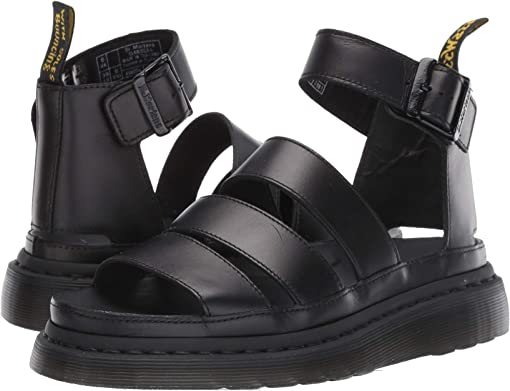Clarissa Ii Patent Leather Strap Sandals from Dr Martens on