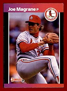 1989 Donruss #201 Joe Magrane ST. LOUIS CARDINALS MLB Network Analyst