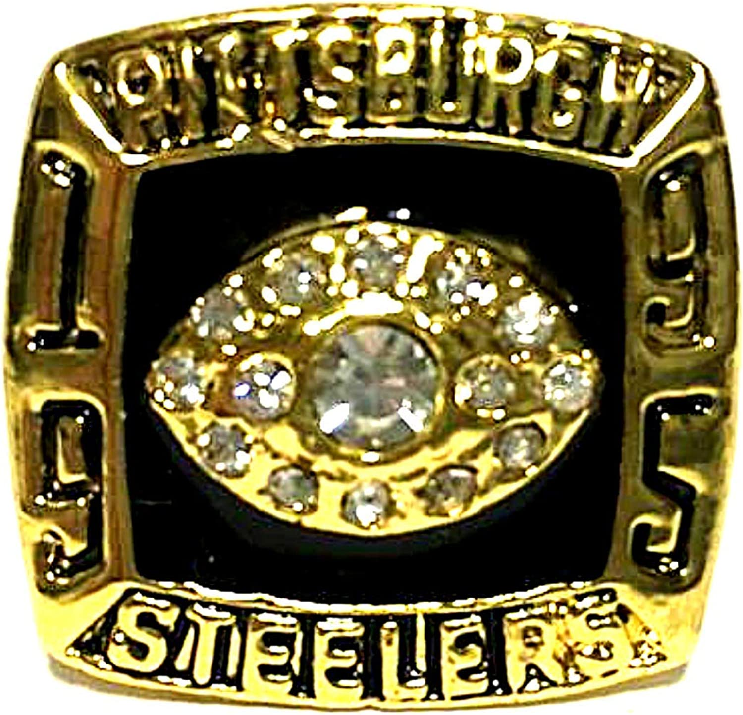 Pittsburgh Steelers 1995 AFC Champions Fred McAfee NFL Replica Rings