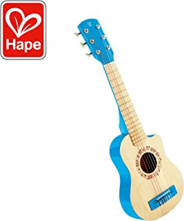 Hape Kid's Flame First Musical Guitar, Blue