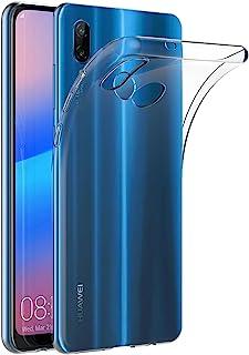 Case for Huawei P20 Lite/Nova 3E (5.84 inch) MaiJin Soft TPU Rubber Gel Bumper Transparent Back Cover