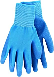 Yard Gloves for Men and Women - Best Gardening Gloves with Rubber Coating; One Size fits All