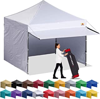 ABCCANOPY Canopy Tent 10 x 10 Pop-up Instant Shelters Commercial Portable Market Canopies..