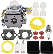 ATVATP C1U-H60 Carburetor for 308054012 308054008 308054004 308054013 25cc 26cc 30cc Ryobi RY28000 RY28005 RY28025 RY28020 CS26 RY28021 RY28040 CS26 Trimmer Backpack Blower Brush Cutter