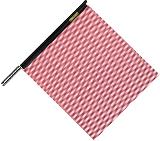 """Oversize Warning Products - Quickmount Warning Flag Red 18"""" x 18"""""""