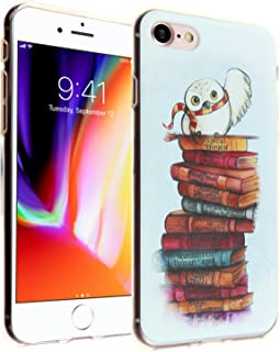 iPhone 8 Harry Potter Case, IMAGITOUCH Harry Potter Hedwig Case Anti-Scratch Shock Proof Soft Touch Slim Fit Flexible TPU Case Bumper Cover for iPhone 8 Harry Potter Owl TPU