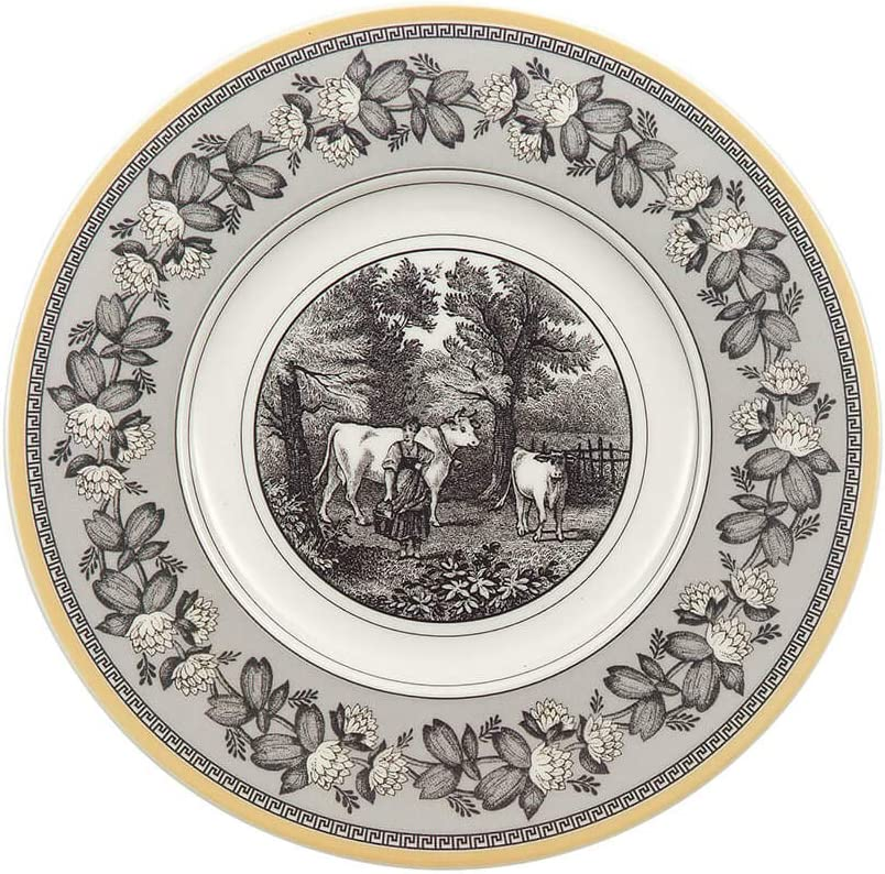 Villeroy Boch Audun Ferme Bread Plate Butter Oklahoma City Mall in Indianapolis Mall 6.25 White