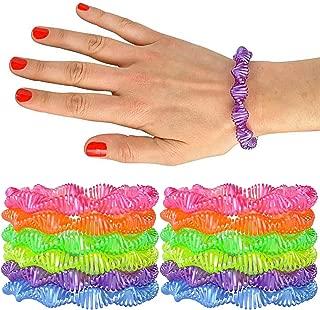 plastic coil spring bracelets