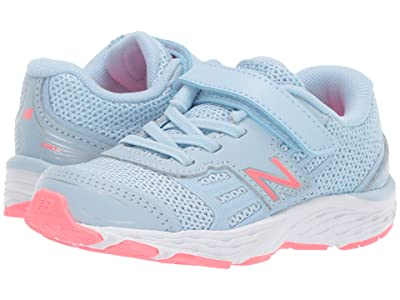 New Balance Kids IA680v5 (Infant/Toddler) (Air/Guava) Girls Shoes