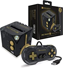 Hyperkin RetroN Sq: HD Gaming Console for Game Boy/Color/ Game Boy Advance (Blackgold) - Game Boy Advance
