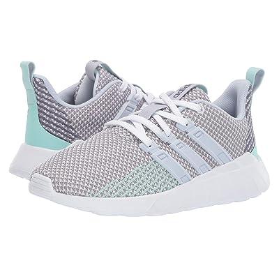 adidas Kids Questar Flow (Little Kid/Big Kid) (Footwear White/Aero Blue/Grey Two) Kid