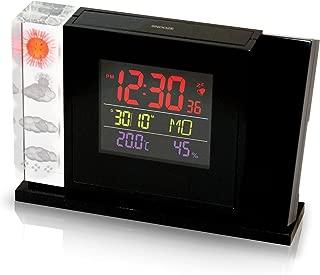 クリスタルウェザーステーション プロジェクションクロック Crystal weather stations with projection clock
