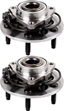 ECCPP Replacement for Pair of 2 New Complete Front Wheel Hub and Bearing for 2002-2006 Dodge RAM 1500 5 Lugs W/ABS 515073¡Á2
