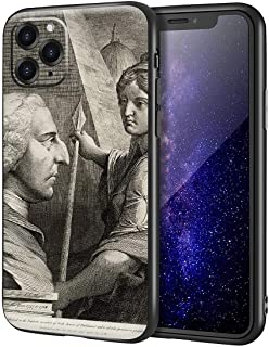 James Barry iPhone 11 Pro用ケース/ファインアート携帯電話ケース/高解像度ジクレーレベルUV複製プリント、携帯電話カバー(ウィリアムピットアールオブチャタム)
