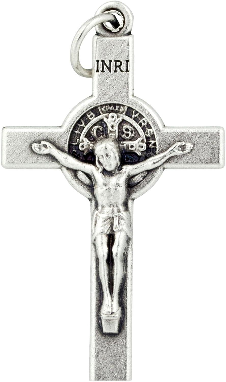 Saint Benedict Crucifix Pendant (1-Pack)