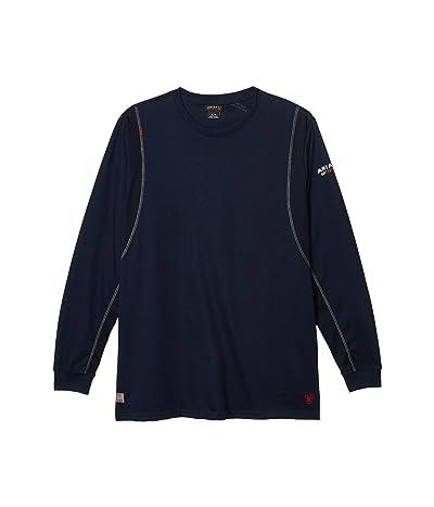 Ariat FR AC Crew T-Shirt (Navy) Men