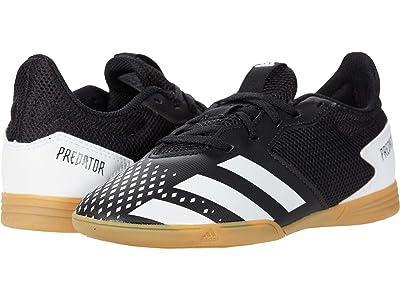 adidas Kids Predator 20.4 IN Sala J Soccer (Little Kid/Big Kid) (Core Black/Footwear White/Gum 3) Kids Shoes