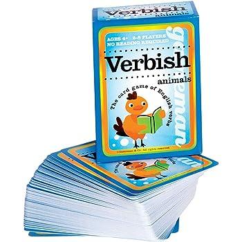 えいご 動詞 カードゲーム Verbish Animals