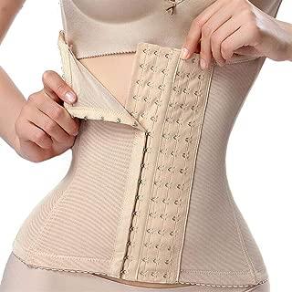 RZDJ Body Shaper Corset Modeling Strap Waist Trainer Steel Bone Corrective Underwear Women Postpartum Tummy Belt Slimming Abdomen (Color : Must, Size : 5XL)