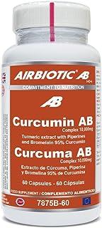 Airbiotic - Curcuma AB 10.000 mg. 60 cápsulas