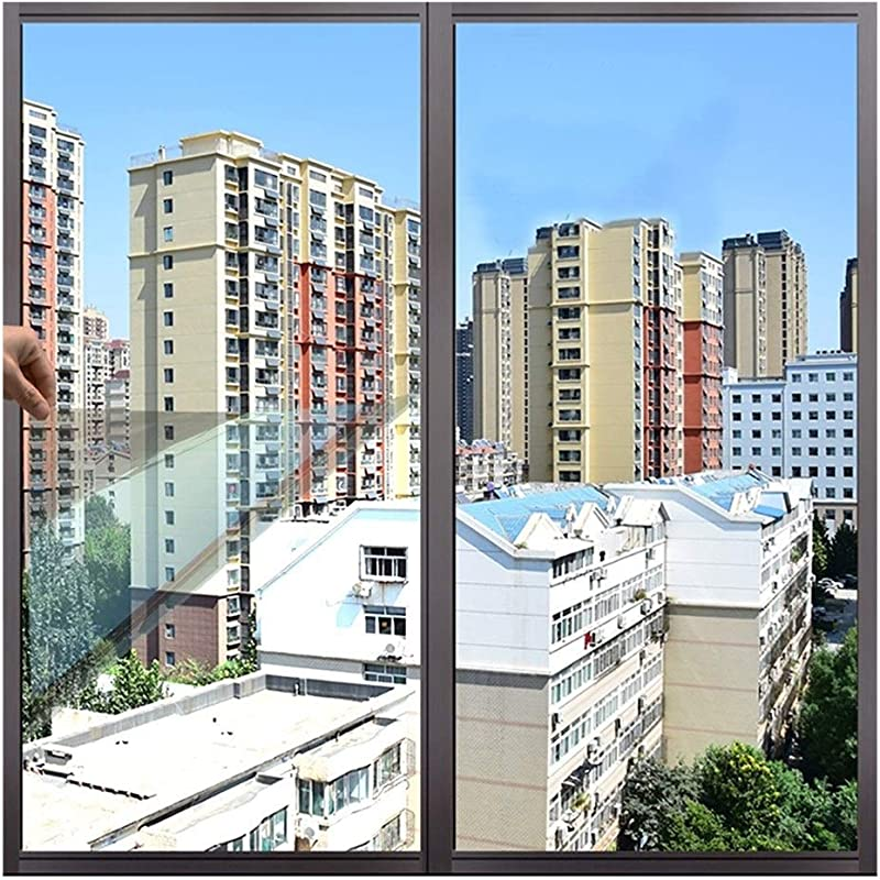 Window Film YLIAN Mirror Two Way Perspective Window Insulation Film Block Out 99 Of Uv Rays The Best Choice For Privacy Protection And Solar Control Size 50x200cm