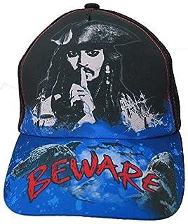 """Disney Pirates of the Caribbean """"Beware"""" Baseball Cap - Boys [6014]"""