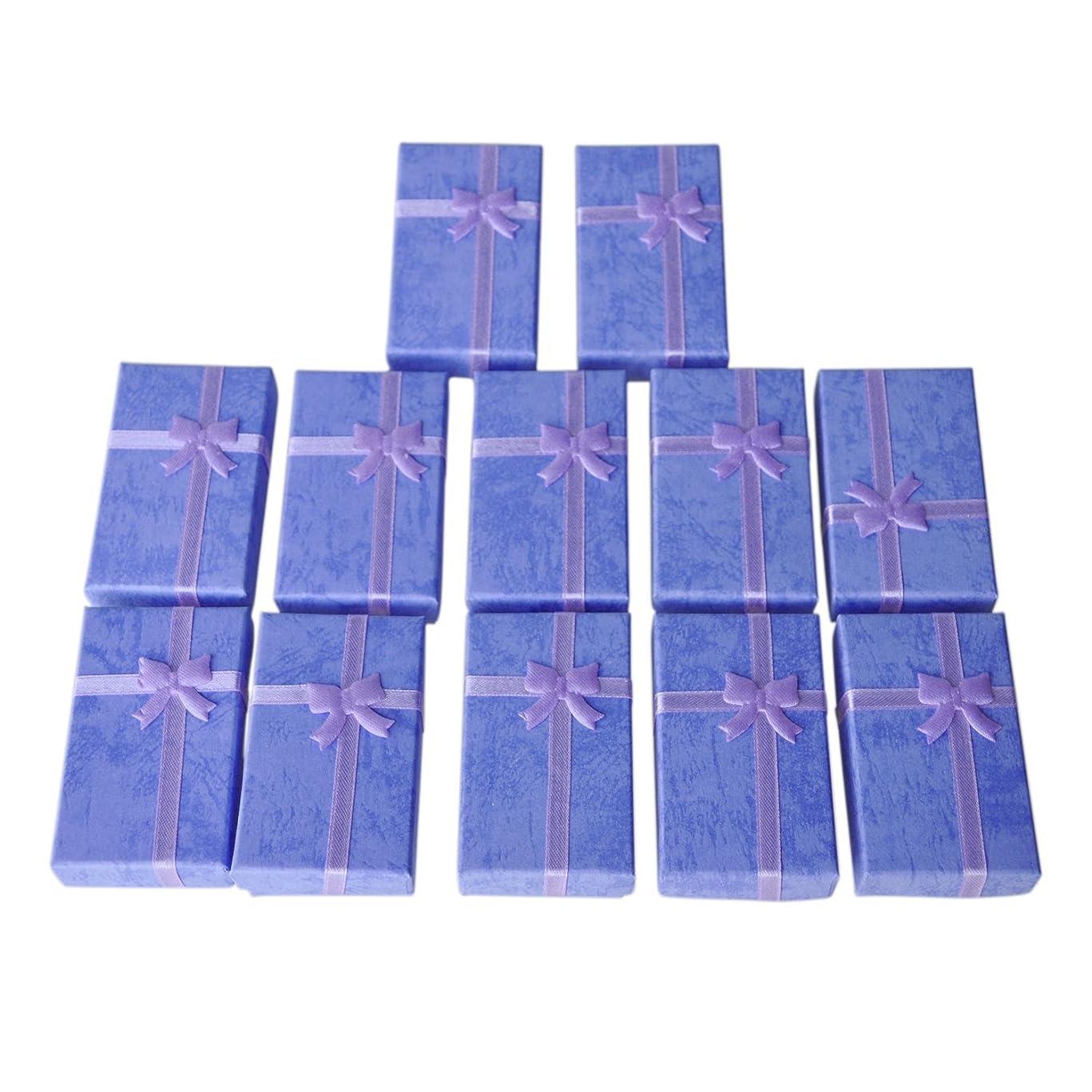 アクチュエータ死んでいる歩き回るTOOGOO 12 x 高級カードボックスペンダントブレスレットバングルイヤリング用ギフトボックス