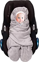 SWADDYL Baby Bunting Bag I Swaddle I Universal for Car Seat Graco Chicco Britax   Stroller   Baby Bed I Made in Europe (Li...