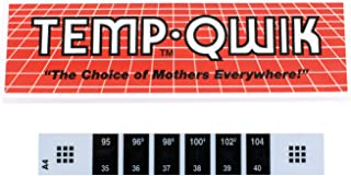Apex Temp-Quik Forehead Strip Thermometer